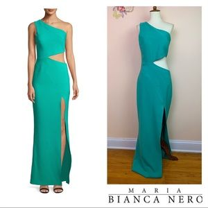 New! MARIA BLANCO NERO Cameron Cut-Out Dress